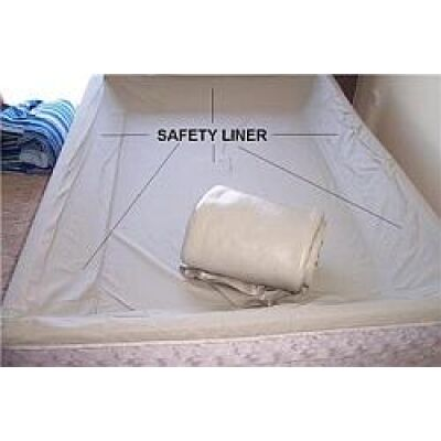 clipper soft sided waterbed liner