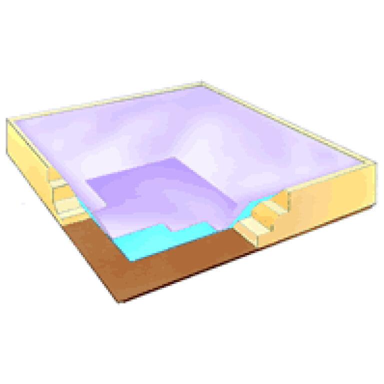 clipper soft sided full float waterbed mattress