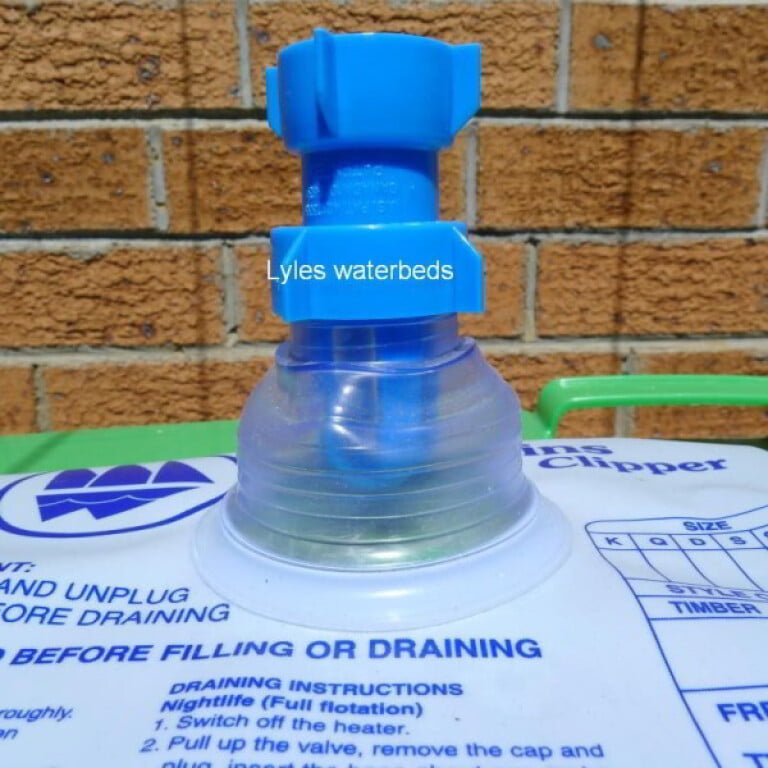 waterbed perfect union hose adapter