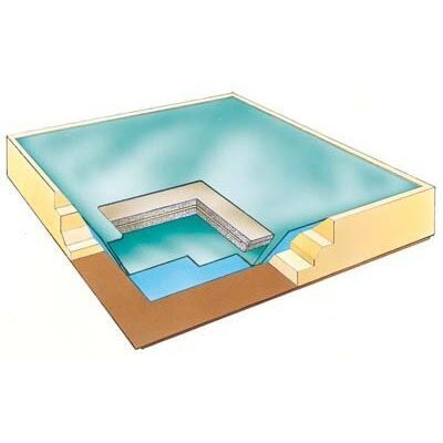 clipper 2 layer waterbed mattress