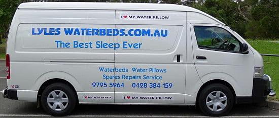 Waterbed Service Van
