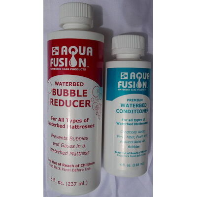 waterbed Bubble Reducer and 1 Year conditioner Pack